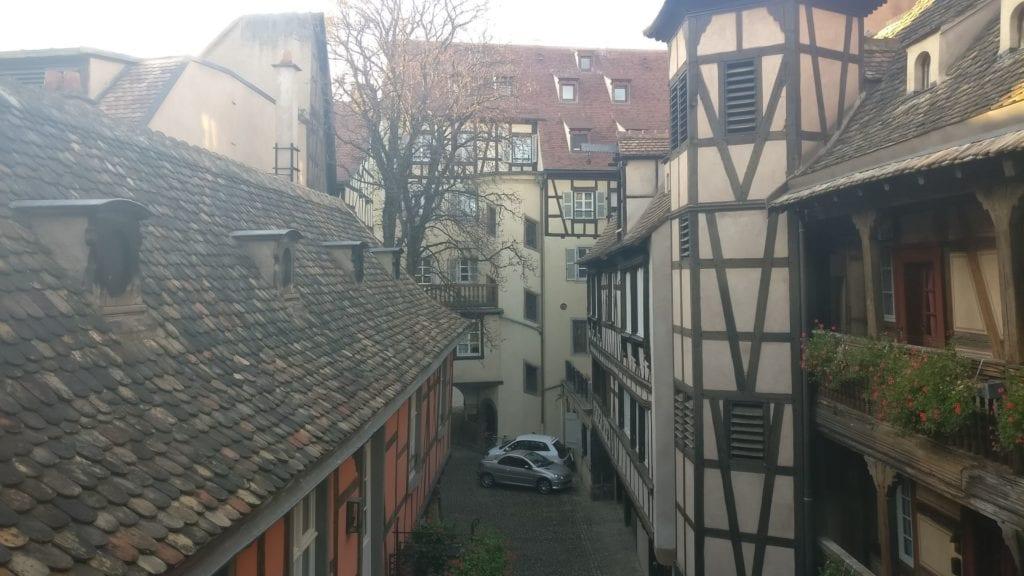 Cour Du Corbeau Straßburg Deluxe Zimmer Ausblick