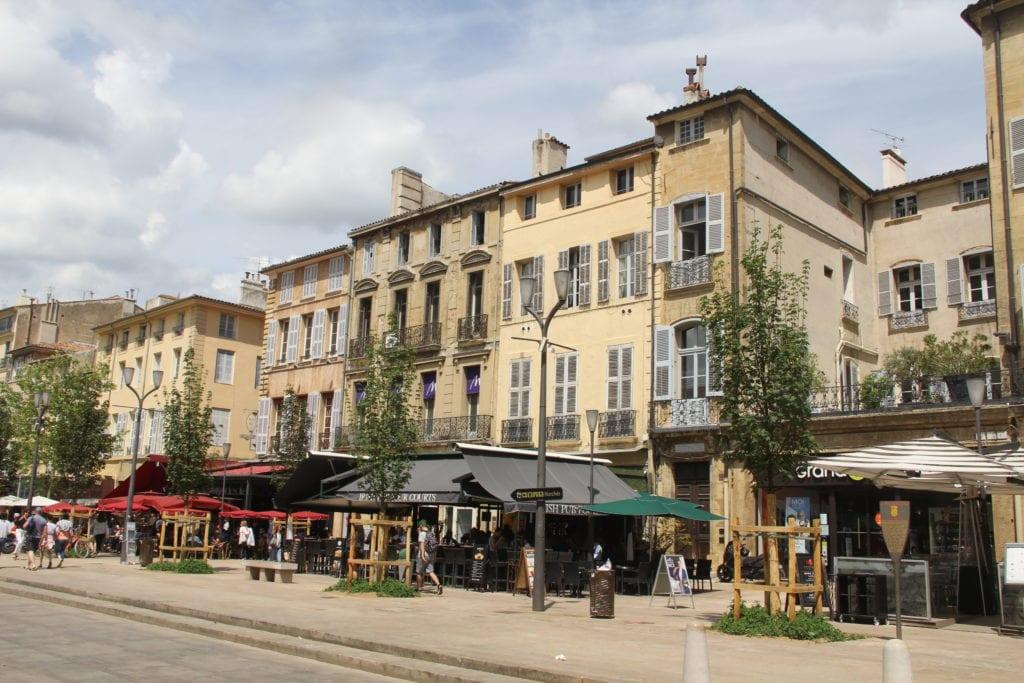 Cours Mirabeau Aix En Provence 2