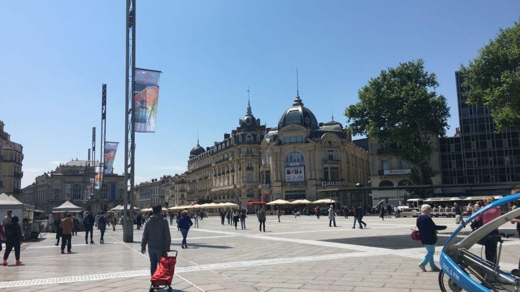 Esplanade De Charles De Gaulle Montpellier
