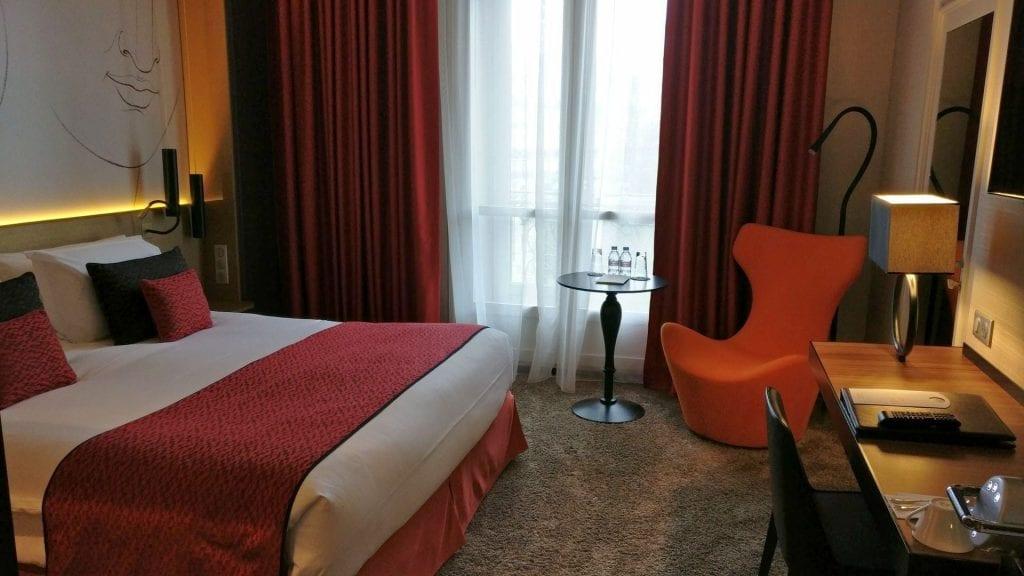 Grand Hotel La Cloche Dijon Superior Room