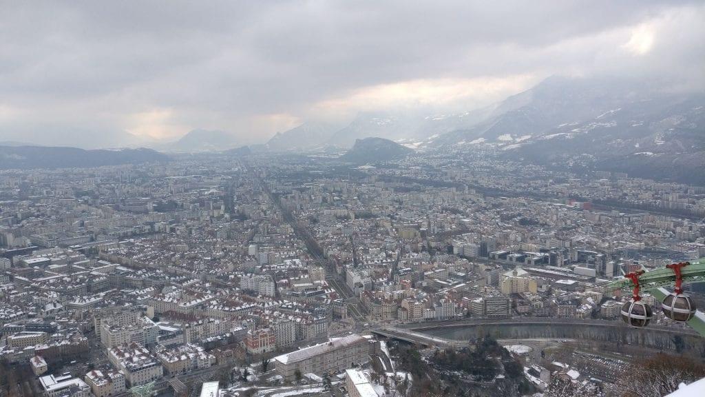 Grenoble Ausblick