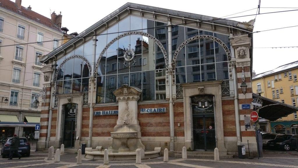 Grenoble Les Halle Sainte Claire