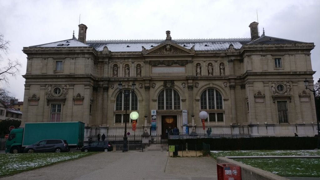 Grenoble Library And Museum