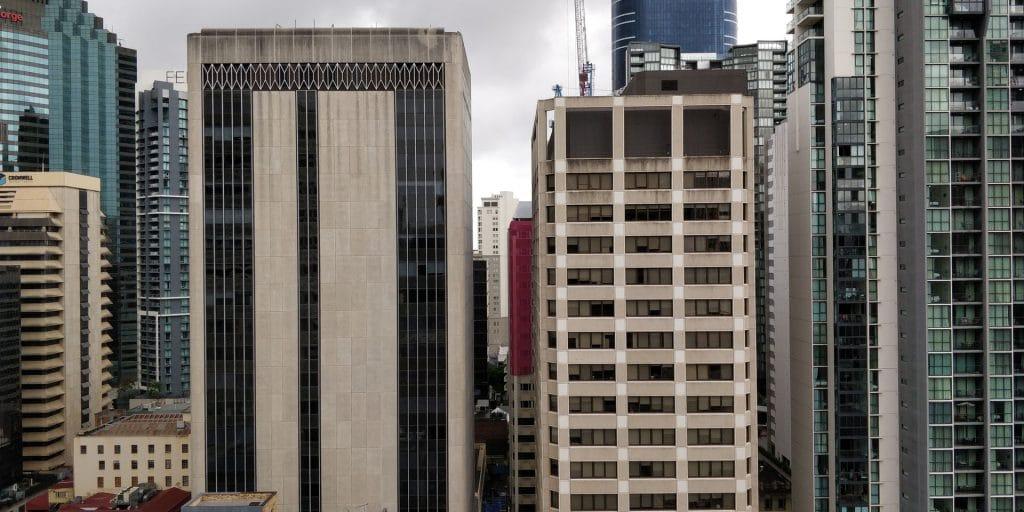 Hilton Brisbane Zimmer Ausblick