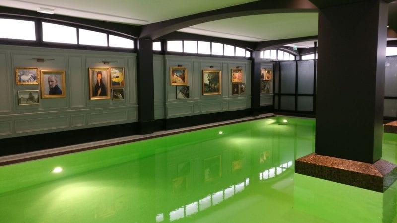 Hotel Barriere Le Fouquet Paris Pool 2