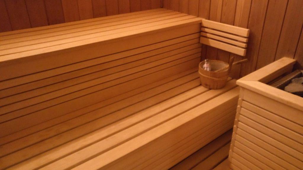 Hotel Barriere Le Fouquet Paris Sauna
