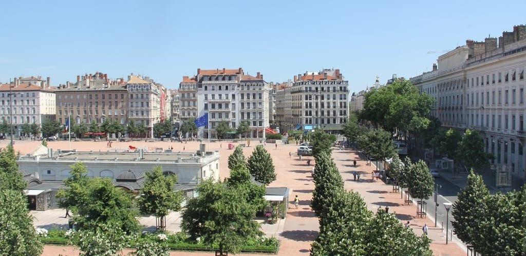 Hotel Le Royal Lyon Junior Suite Ausblick