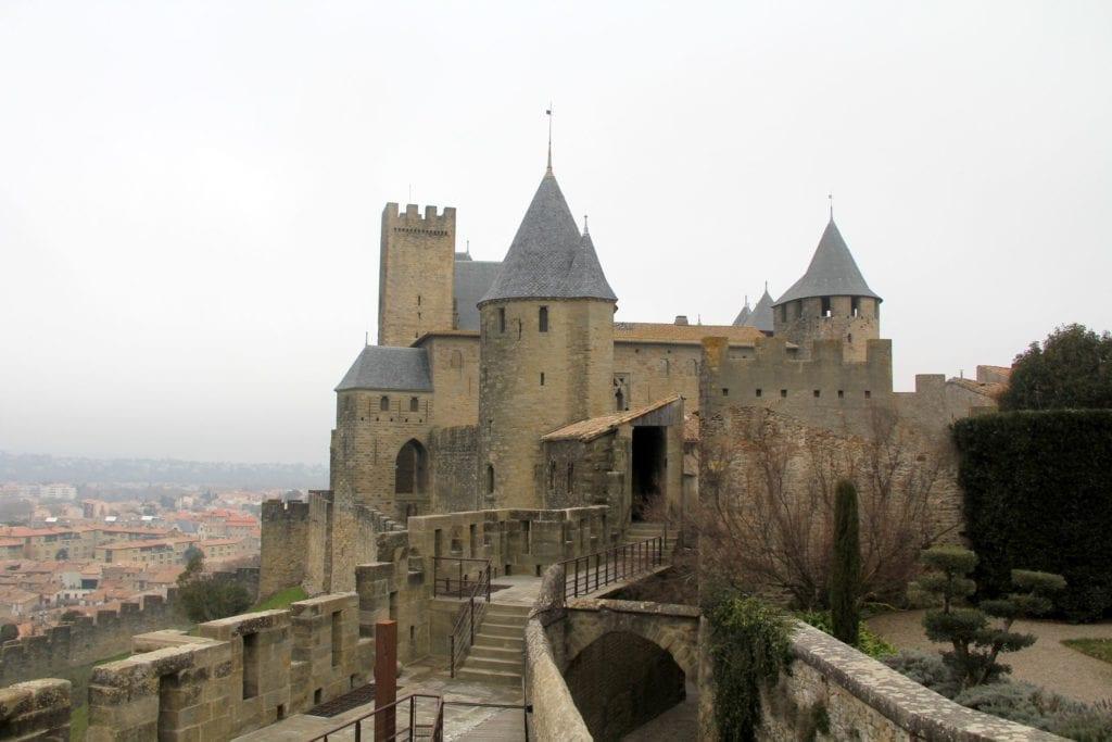 Hotel De La Cite Carcassonne Lage