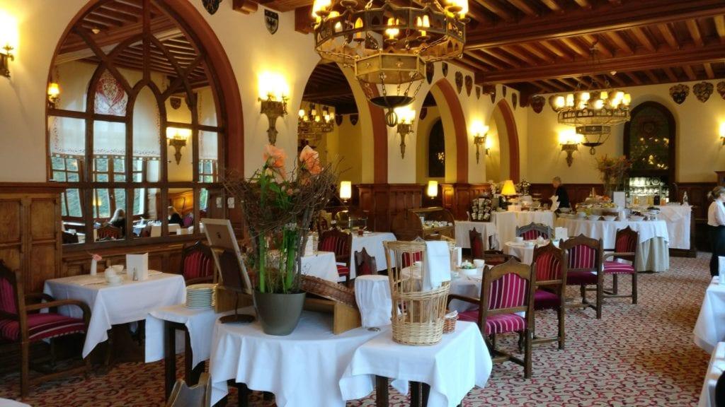 Hotel De La Cite Carcassonne Restaurant