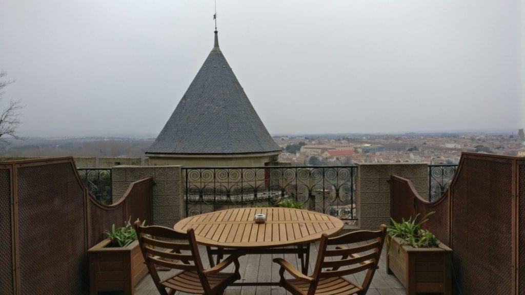 Hotel De La Cite Carcassonne Terrasse 2
