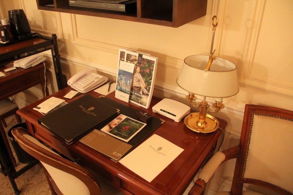 Hotel De La Cite Carcassonne Zimmer 4
