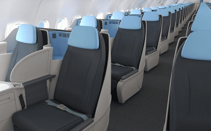 La Compagnie Airbus A321 Business Class