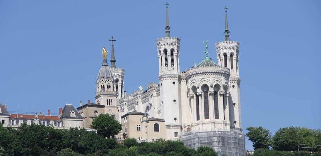 Lyon Notre Dame De Fourviere Basilica