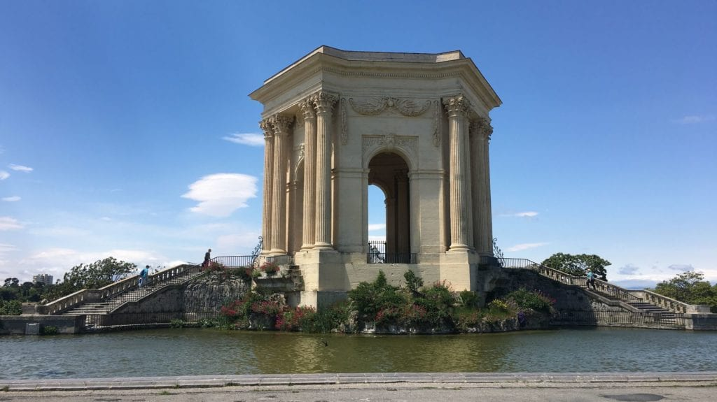 Montpellier Aqueduct Saint Clément
