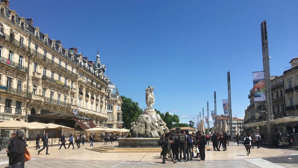 Montpellier Place De La Comedie