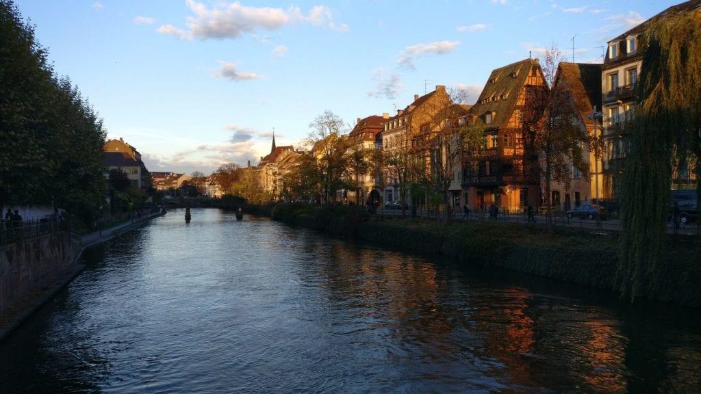 River Ill Straßburg