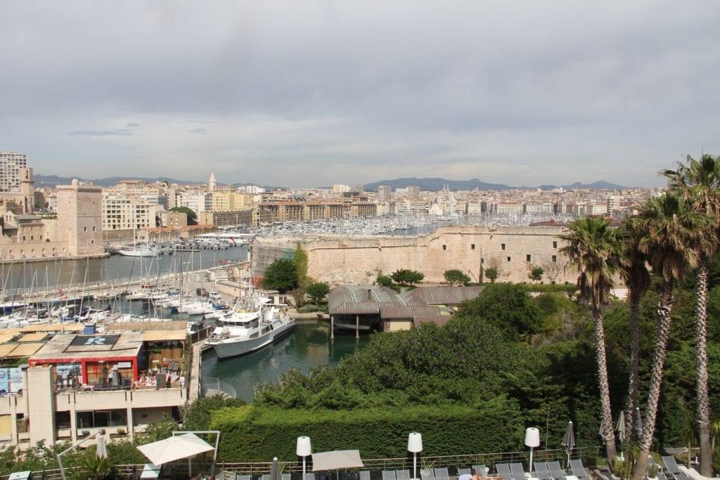 Sofitel Marseille Vieux Port Ausblick