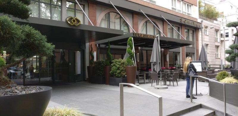 Sofitel Straßburg Eingang