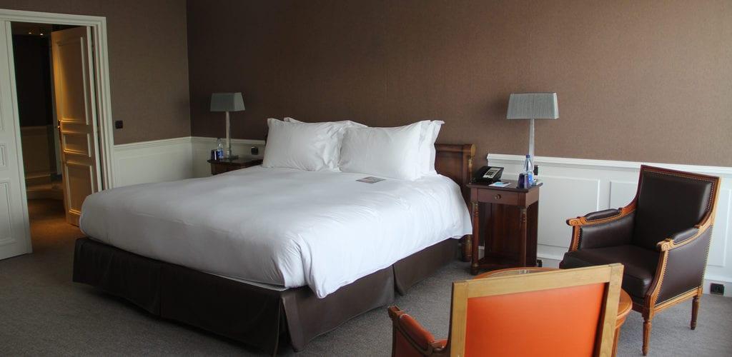 Sofitel Straßburg Imperial Suite Schlafzimmer