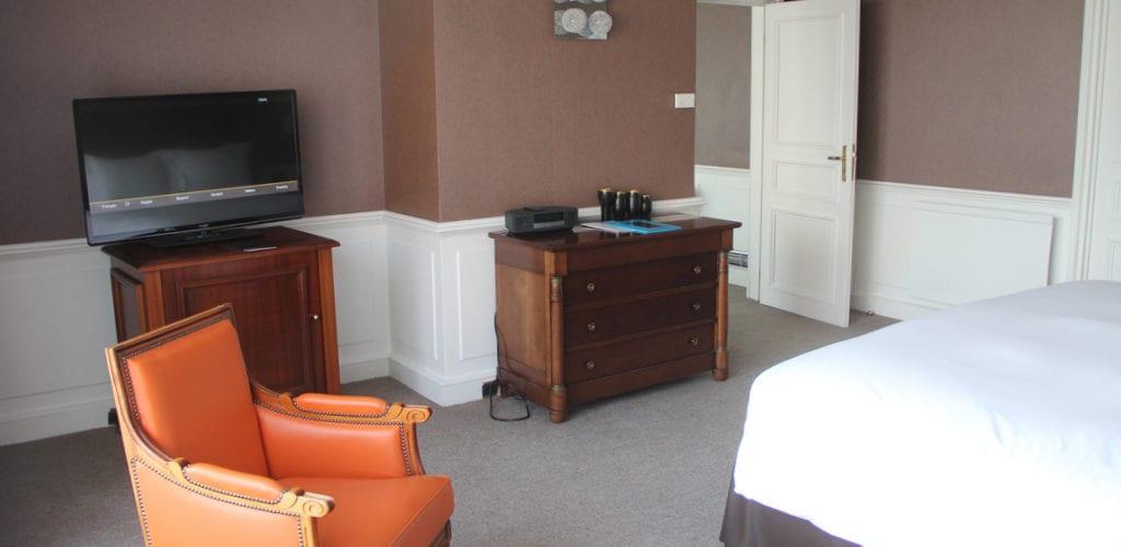 Sofitel Straßburg Imperial Suite Schlafzimmer 2