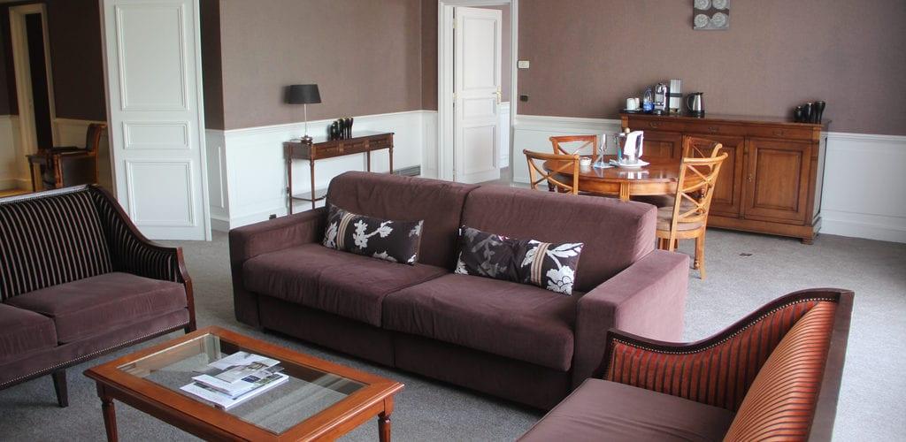 Sofitel Straßburg Imperial Suite Wohnzimmer 2