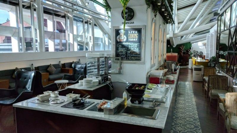 TG Lounge Bali Büffet