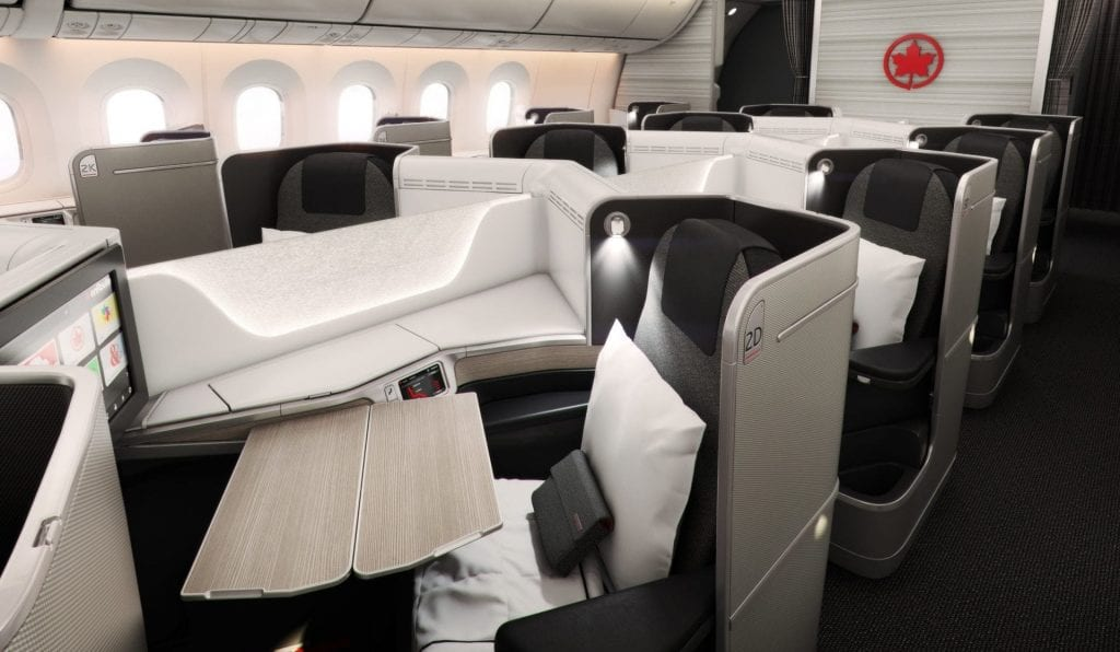 Buchungsklassen Air Canada Business Class