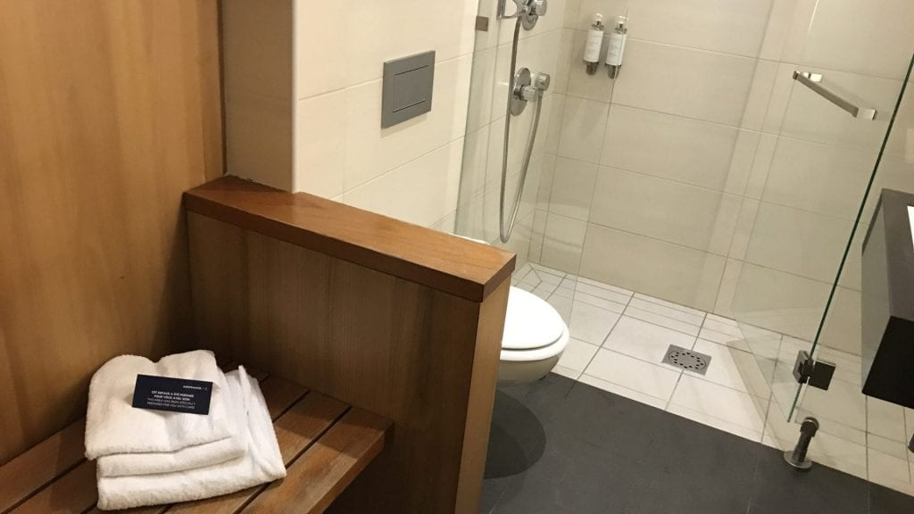 Air France Lounge Paris Cdg Terminal 2g Dusche