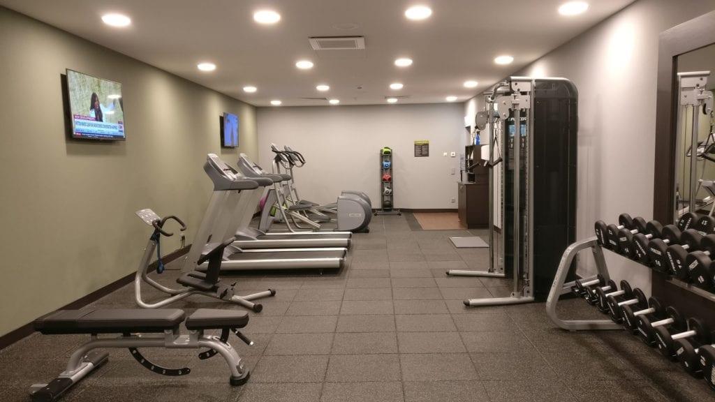 Hilton Garden Inn Frankfurt City Centre Gym