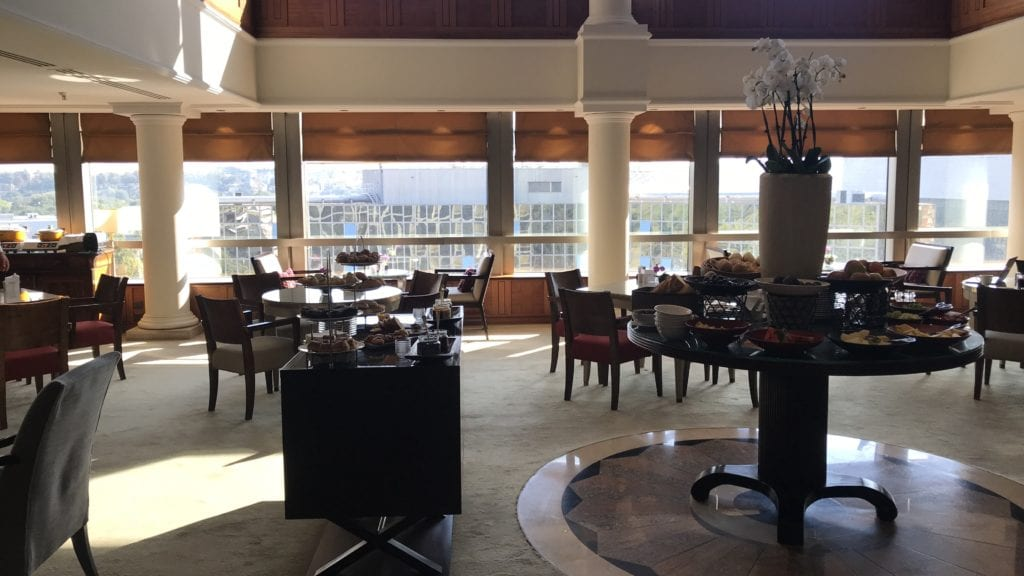 Hyatt Regency Belgrad Club Lounge