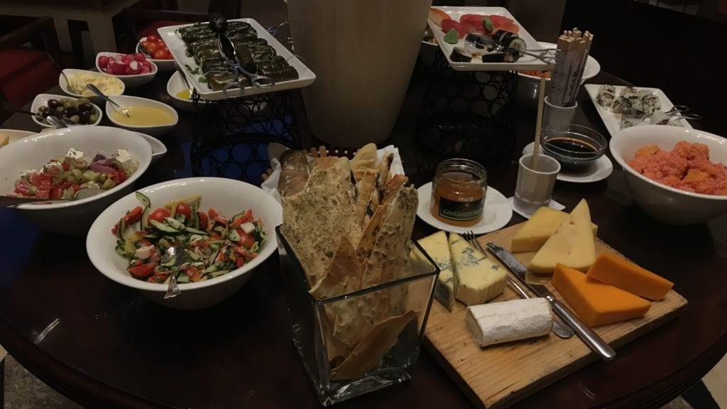 Hyatt Regency Belgrad Club Lounge Evening Snacks