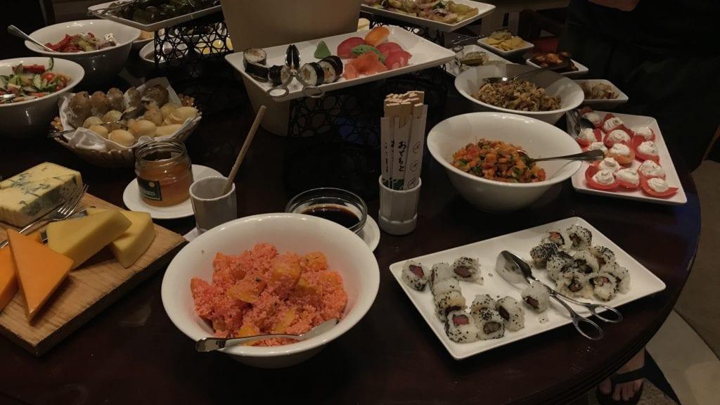 Hyatt Regency Belgrad Club Lounge Evening Snacks 2