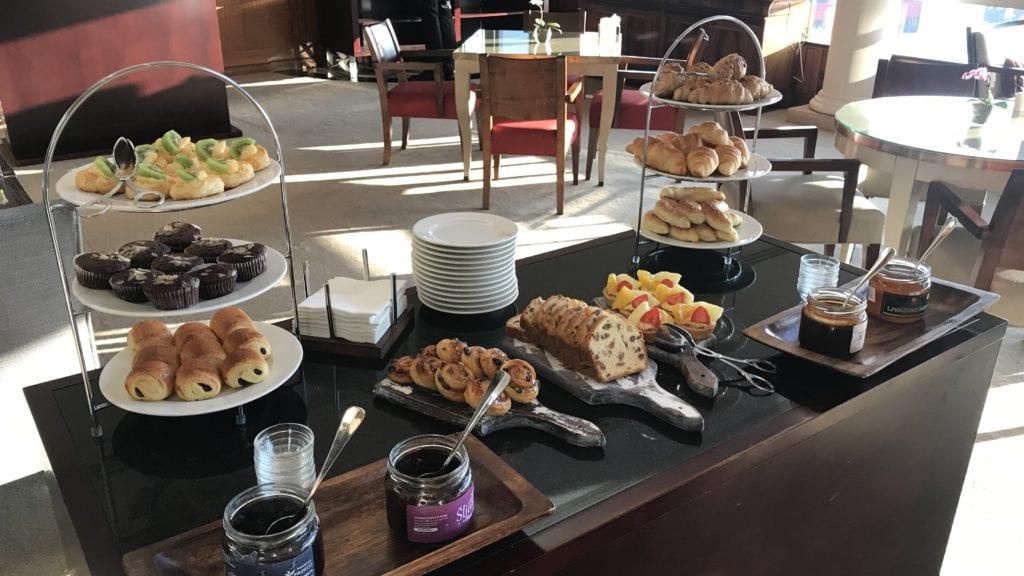 Hyatt Regency Belgrad Club Lounge Frühstück 2