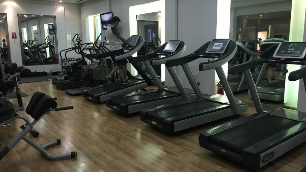Hyatt Regency Belgrad Gym