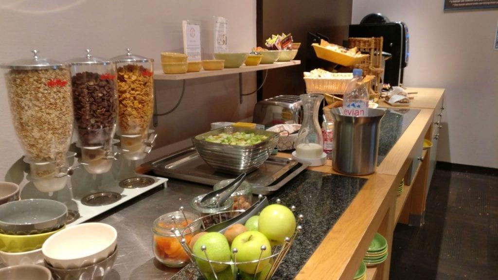 Ibis Styles Metz Frühstück