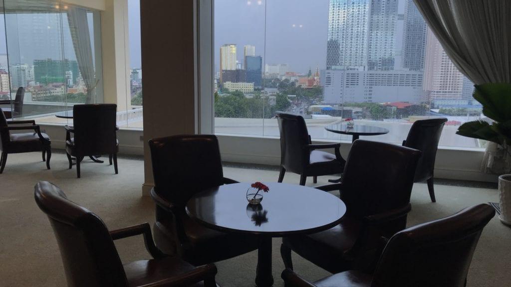 Sofitel Phnom Penh Club Lounge 2