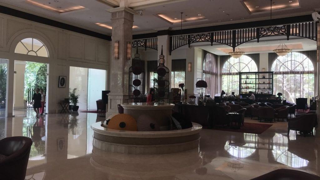 Sofitel Phnom Penh Lobby