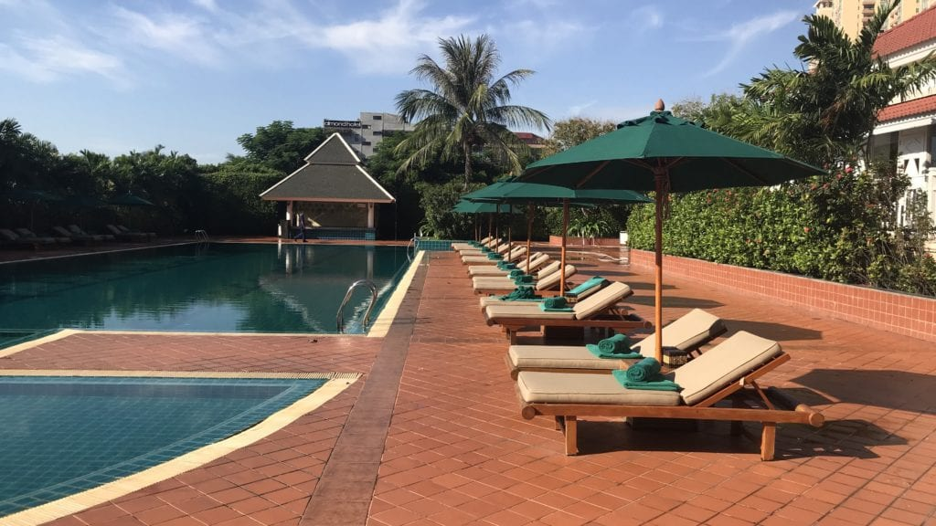 Sofitel Phnom Penh Pool 2