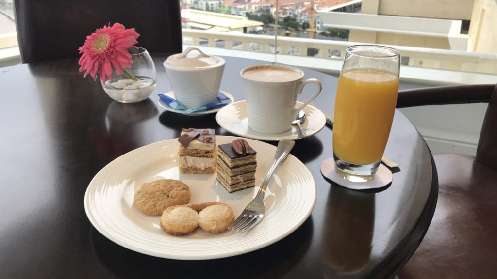 Sofitel Phnom Penh Tee Kaffee Nachmittag
