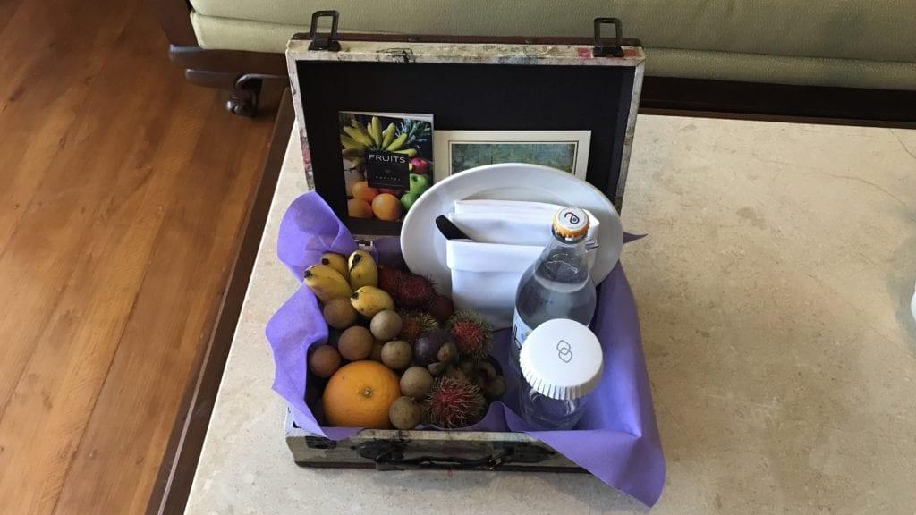 Sofitel Phnom Penh Willkommensgeschenk