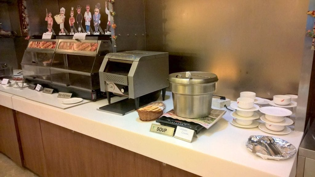 Air India Longe Delhi Buffet