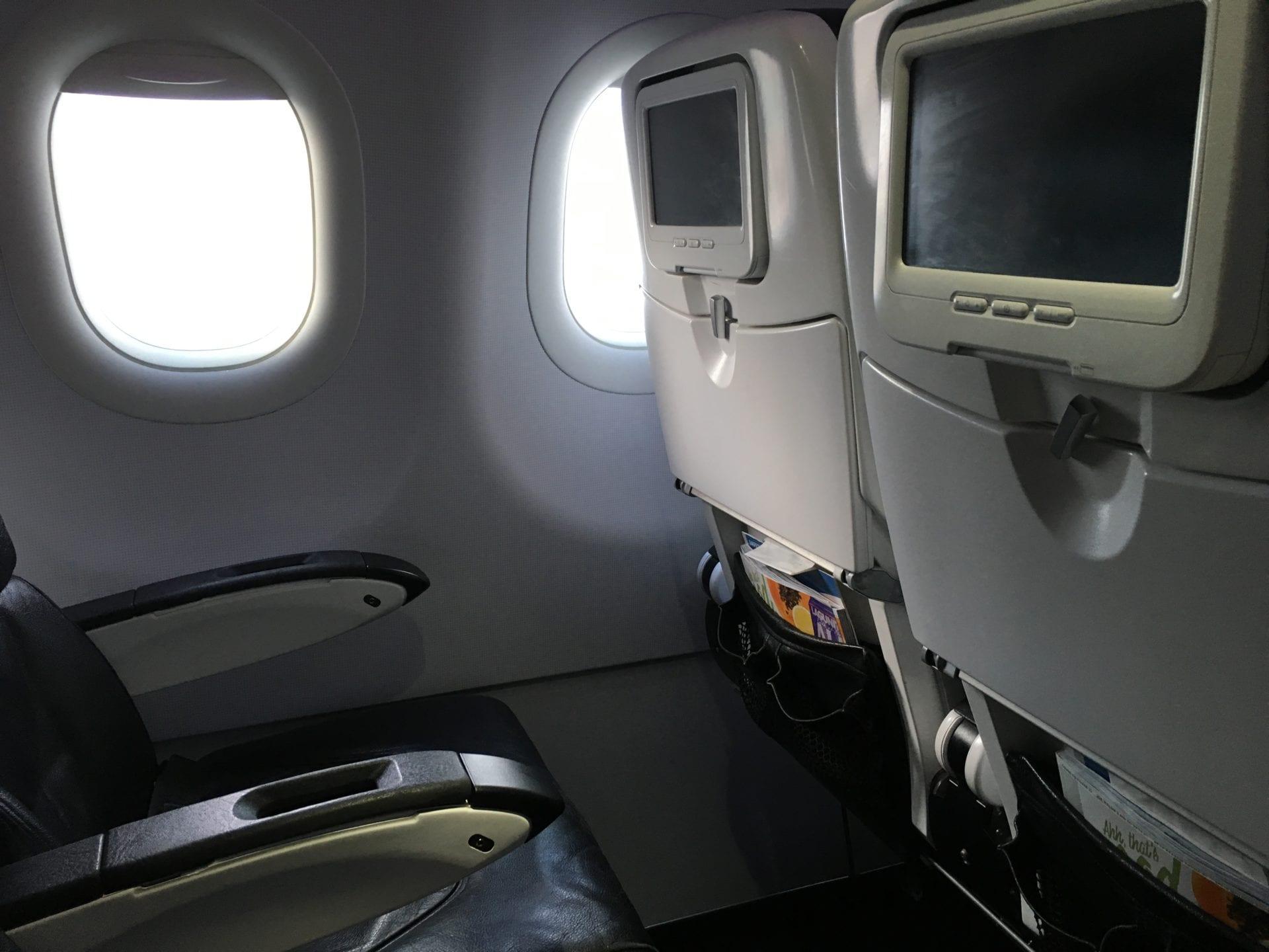 Alaska Airlines Economy Class Entertainment 2