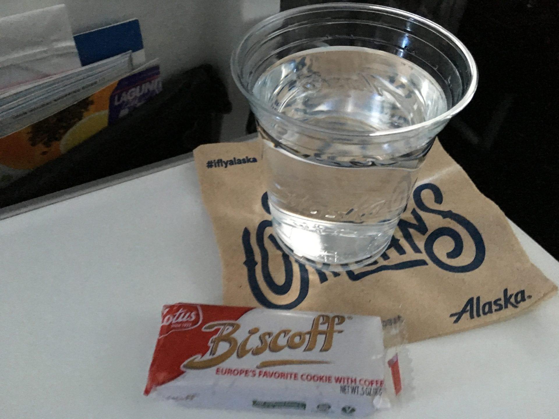 Alaska Airlines Economy Class Service