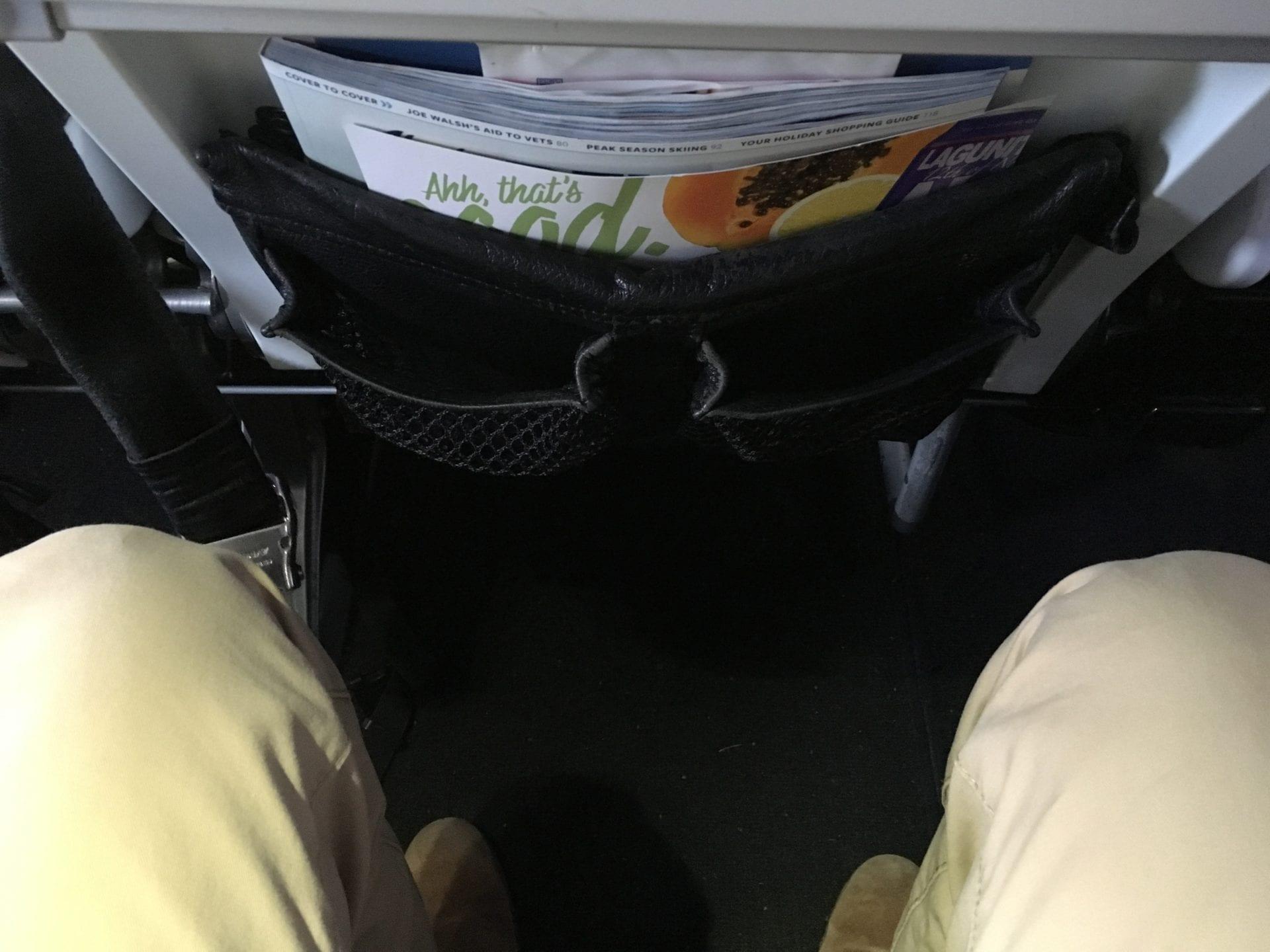 Alaska Airlines Economy Class Sitz 3