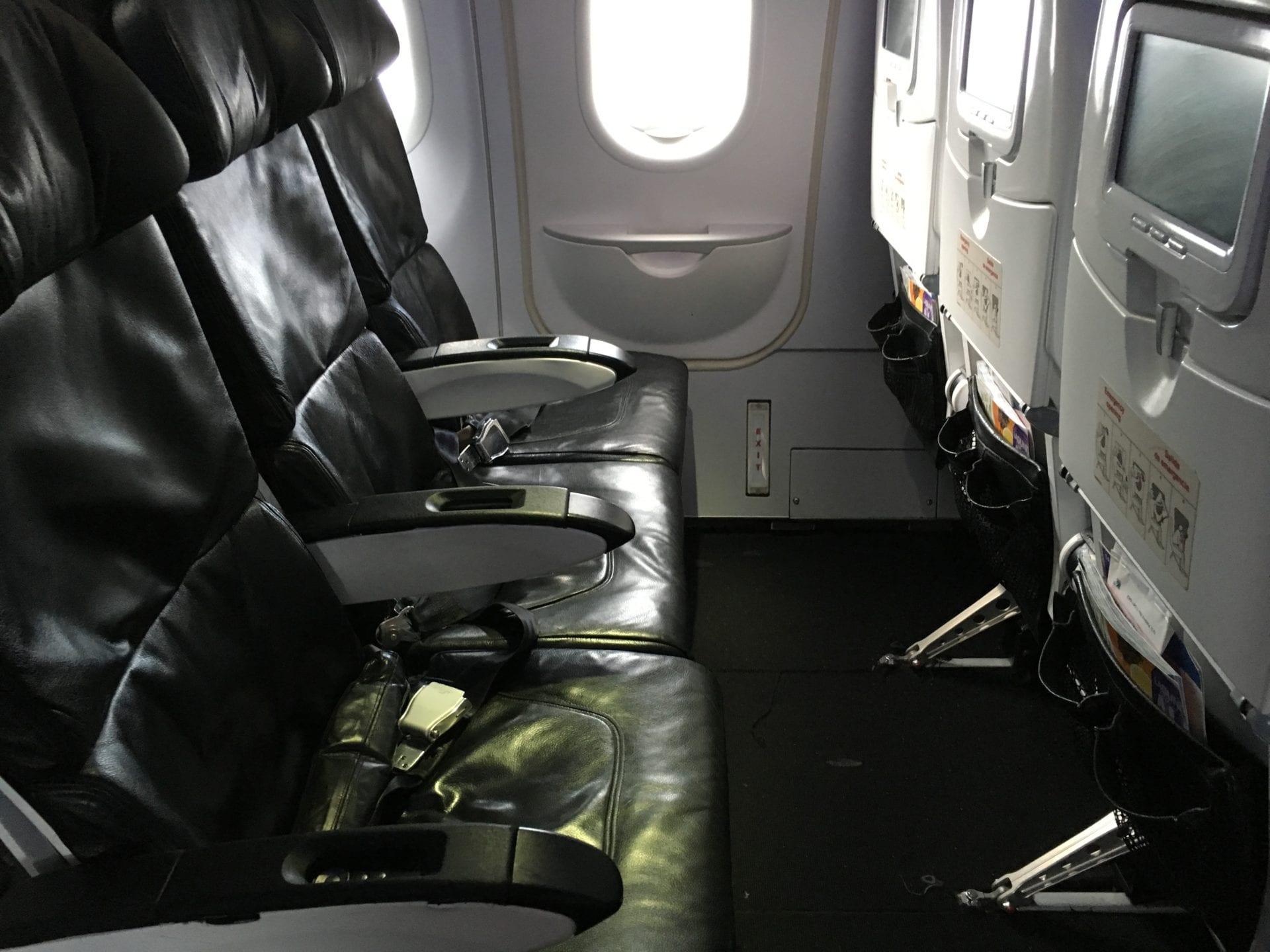 Alaska Airlines Economy Class Sitz
