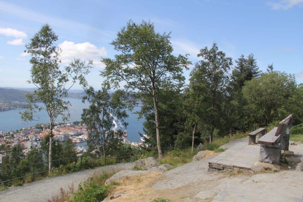 Bergen Floyen Wanderweg