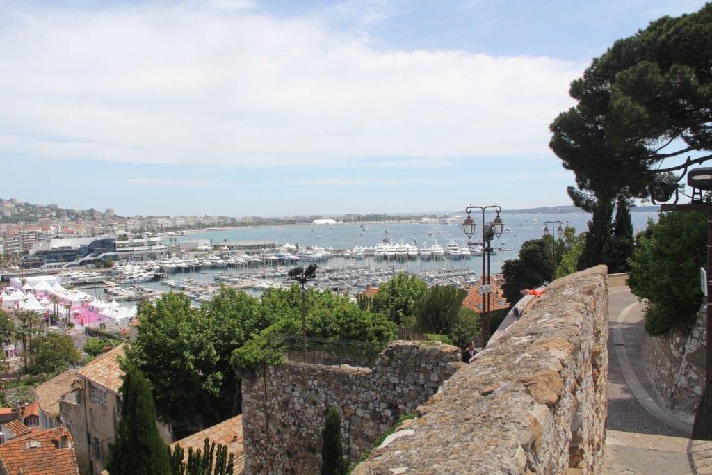 Cannes Burg Ausblick