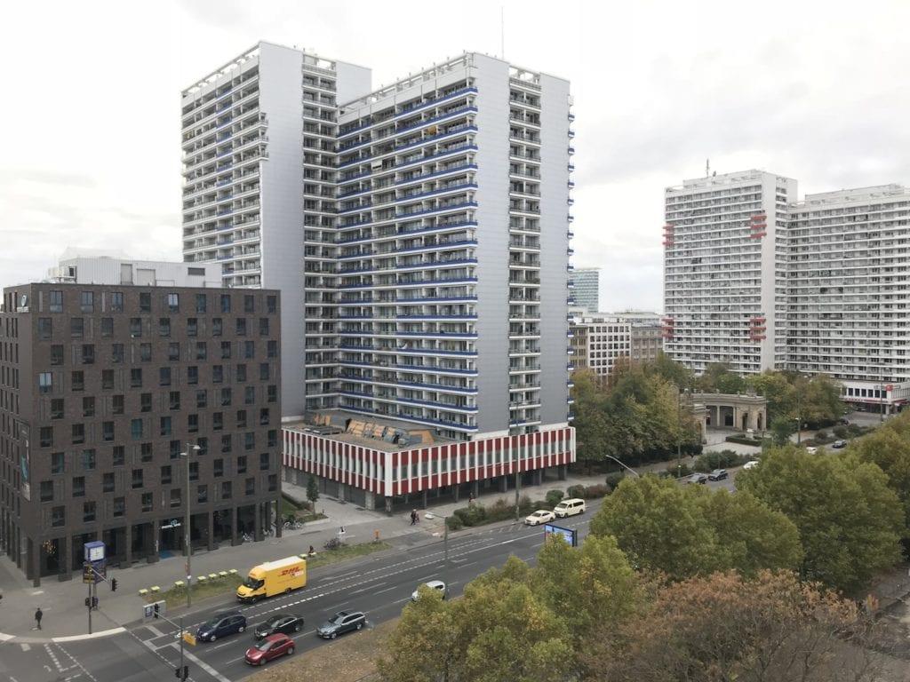 Cosmo Hotel Berlin Ausblick 2