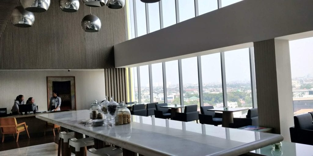 DoubleTree By Hilton Hotel Jakarta Executive Lounge 2