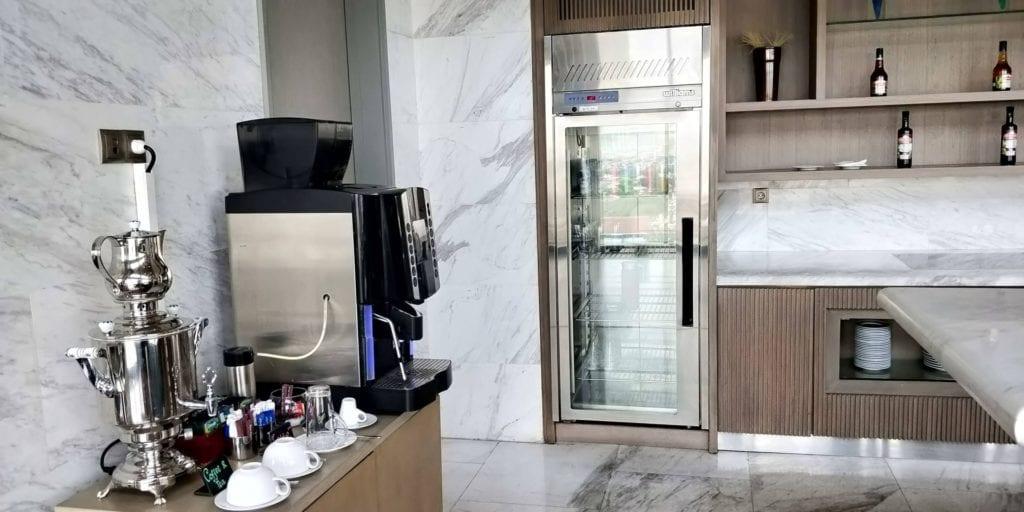 DoubleTree By Hilton Hotel Jakarta Executive Lounge Getränke